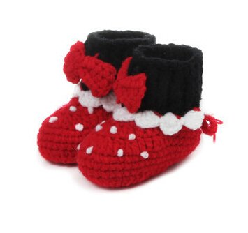 Red Baby Shoes front-699755