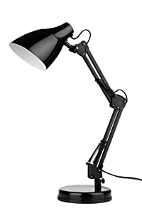 Premier Housewares Metal Table Lamp, Black_Parent