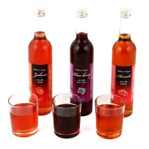 おいしい酢フルーツビネガー ザクロ・ブルーベリー・アセロラ 3本セット