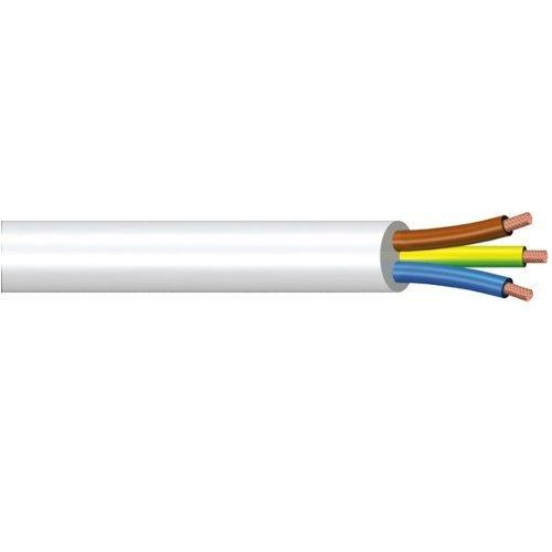 Matassina cavo elettrico 25 mt 3×1,5 mm bianco POL günstig