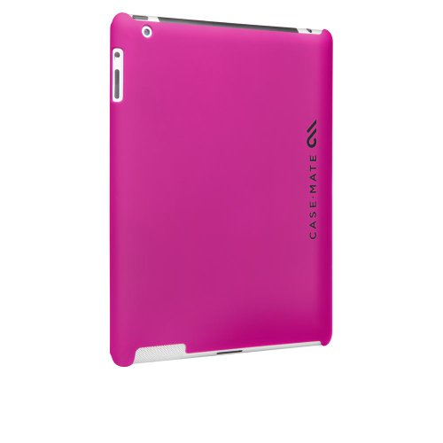 Case-Mate 日本正規品 iPad 2 Barely There Case, Matte Hot Pink スリム ハードリアカバー ベアリーゼア ケース マット・ホット・ピンク CM014108