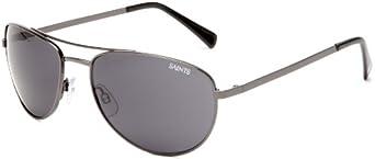 MODO Blitz NBLITSBUBLK62 Aviator Sunglasses,Gun Frame Grey Lens,One Size by MODO