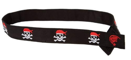 Myself Belts Easy to Fasten One-handed Velcro Belt for Kids- Pirate Belt