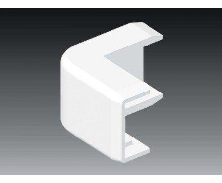 Außeneck Ecke passend für 25x15 mm Kabelkanal weiß Profiware von MD