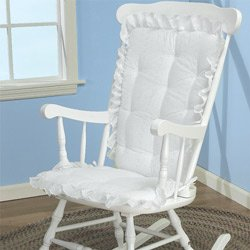 chair cushion set color white rocking chair cushion for nursery