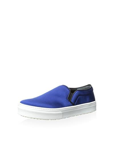 Celine Women's Slip-On Sneaker  [Blue]