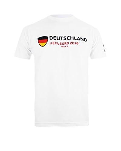 EURO 16 Camiseta Manga Corta Germany Supporter Blanco