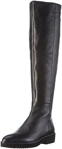 BPrivateH0404X - Stivali sopra il ginocchio con imbottitura leggera Donna , Nero (Nero (Nero)), 38