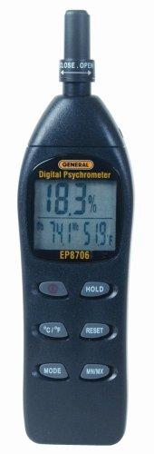 General Tools EP8706 Digital Psychrometer - 1