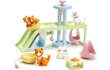 Caring Corners - Pet Playground Accessory Pack by Learning Curve (English Manual)