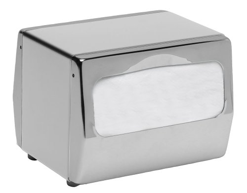 San Jamar H4001XC Chrome Fullfold Table-Top Napkin Dispenser