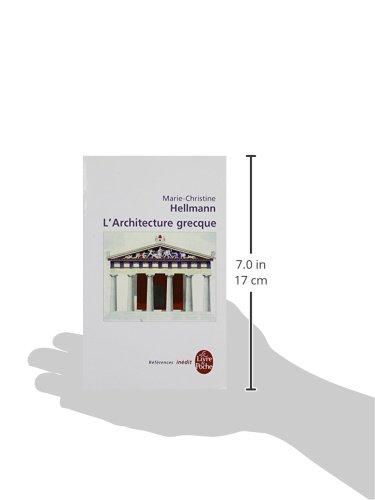 Libro l 39 architecture grecque di marie christine hellmann for Architecture grecque