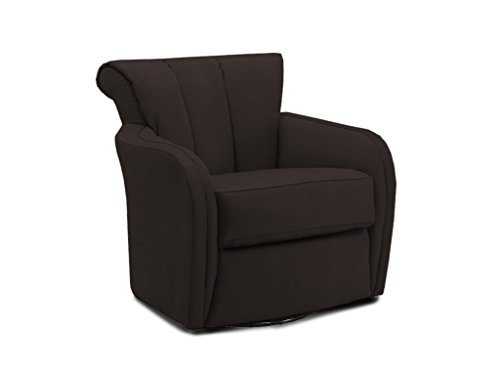 Klaussner Swivel Swivel Glide, Chocolate front-636535