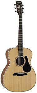 Alvarez Artist Series AF60 Folk Guitar, Natural/Gloss Finish
