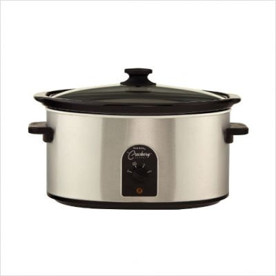 Digital Slow Cookers: West Bend - 85156 - 6qt Round Stainless Steel finish slow cooker