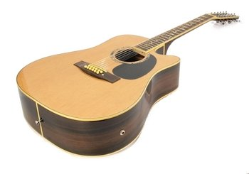 12-String Acoustic-Electric Guitar Pro-Quality Spruce Willow Rosewood