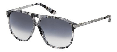 Marc By Marc Jacobs Marc By Marc Jacobs Sunglasses in Grey Ruthenium and Grey Gradient Lens MMJ205