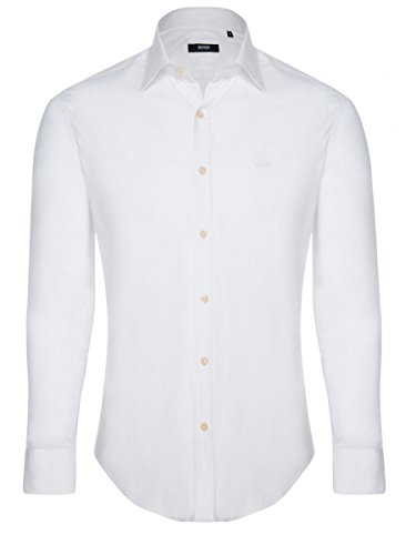 hugo-boss-chemise-casual-homme-blanc-small