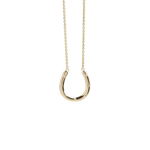 Horseshoe Pendant in Gold Vermeil