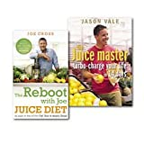 img - for The Juice Master Juice Diet Collection 2 Books Set, (Jason Vale the Juice master turbo-charge your life in 14 days and The Reboot with Joe Juice Diet - Lose weight, get healthy and feel amazing: As seen in the hit film 'Fat, Sick & Nearly Dead' book / textbook / text book