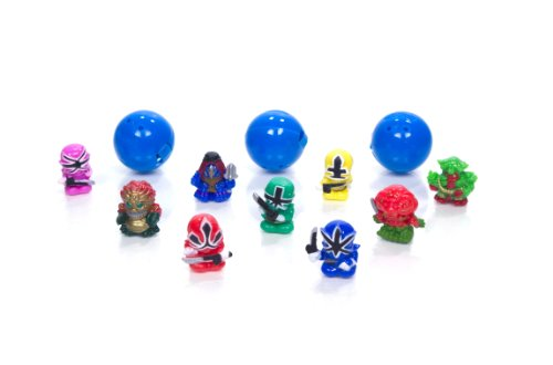Squinkie Power Ranger 12 Piece Bubble Series 2