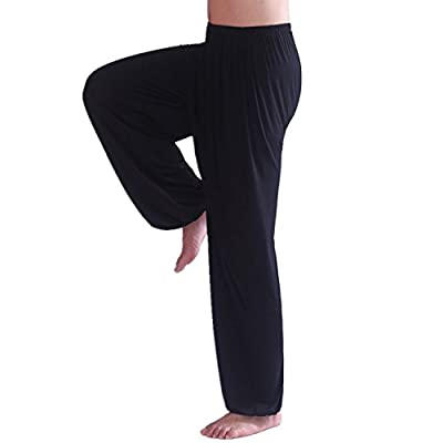 Vshop-2000 Men's Soft Modal Spandex Harem Yoga Pilates Pants