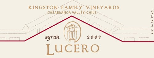 2009 Kingston Family Vineyards Lucero Syrah 750 Ml