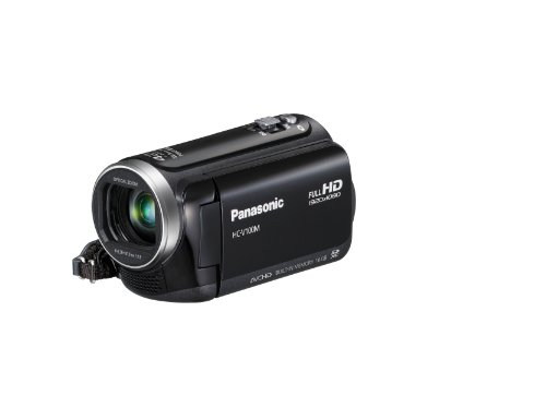 Panasonic V100MK 42x Intelligent Zoom SD Camcorder with 16GB Internal Memory (Black)
