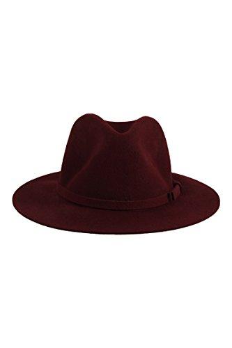 tally-weijl-cappello-borsalino-bordeaux-donna-rosso-m-l
