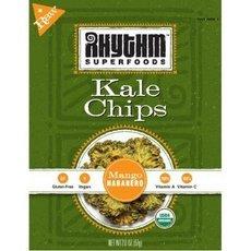 Rhythm Superfoods - Organic Kale Chips Raw Mango Habanero - 2 oz.