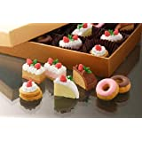 Iwako Japanese Cakes and Donuts Eraser,7 Piece