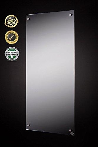fern infrarot spiegelheizung neueste technologie 300w. Black Bedroom Furniture Sets. Home Design Ideas
