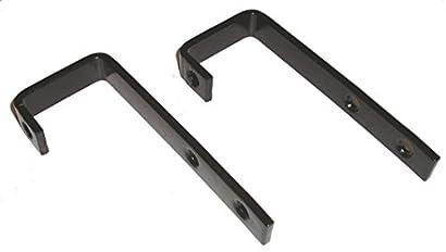 Bunk Bed Ladder Hooks 1 2 W X 3 1 2 H Black Finish Over 11ga Steel