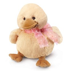 Diddy Ducky Small with Pink Ribbon 5""