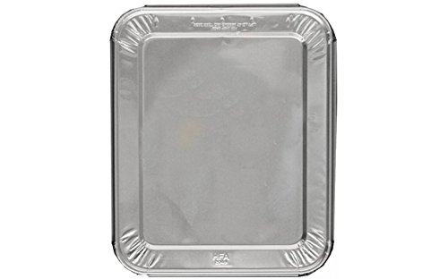 Perfect Stix Foil Pan Lids-10ct Half Size Steam Table Foil Lids (Pack of 10)