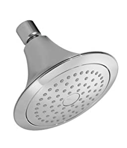 KOHLER K-10282-CP Forte Single-Function Showerhead, Polished Chrome