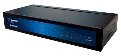 Allnet ALL8855 Commutateur 5 ports 10/100/1000TX avec bloc d'alimentation interne (Import Allemagne)