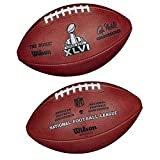 Wilson New York Giants vs. New England Patriots Super Bowl XLVI Dueling Official Game Football () at Amazon.com