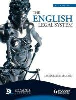 The English Legal System, 6th Edition