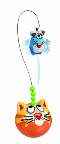 Fat Cat Catfisher Fishing Bobber with Catnip Mouse Lure