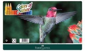 FABER-CASTELL Buntstifte Colors of Nature, 36er Metalletui VE=