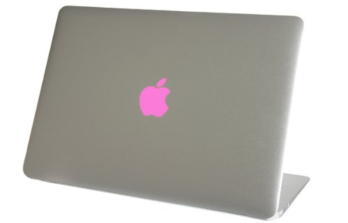 "Baby Pink Logo Color Changer For Macbook 13"" Vinyl Sticker Decal Mac Apple Laptop front-30628"