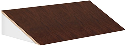 Salsbury Industries 22254Mah 3-Inch Wide Sloping Hood For 21-Inch Deep Extra Wide Designer Wood Locker, Mahogany Brown