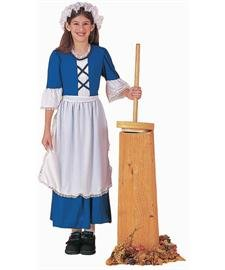 Forum Novelties Inc Unisex Child Colonial Girl