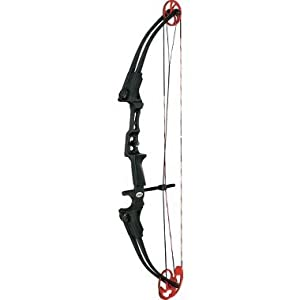 Genesis Mini Bow Kit, Left Handed, Black by Genesis