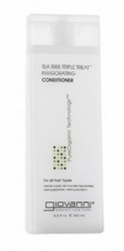 Tea Tree Triple Treat Conditioner 33.8 Oz, Normal To Dry Hair By Giovanni