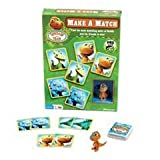31gwllV%2BsYL. SL160  Dinosaur Train Make a Match with Figure