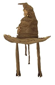 One Size Adult Harry Potter Costume Sorting Hat - Brown
