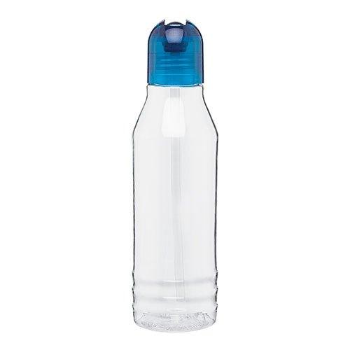 Flip Up Straw Spout - Cold Beverage - Sport Water Bottle - 20Oz. Capacity - Aqua front-723213
