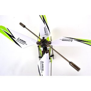 Syma S107G 3 Channel RC Helicopter with Gyro - Green